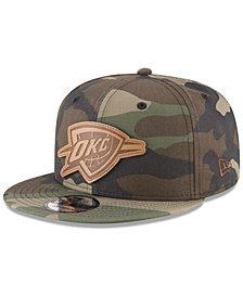 New Era Oklahoma City Thunder Camo 9FIFTY Snapback Cap