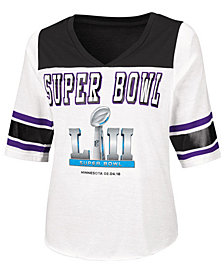 Touch By Alyssa Milano Women's Super Bowl 52 Touchdown T-Shirt