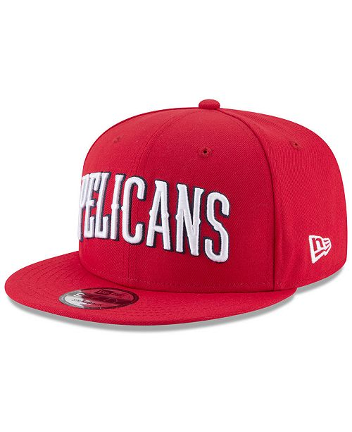cfd9206fbb1 ... New Era New Orleans Pelicans Statement Jersey Hook 9FIFTY Snapback Cap  ...