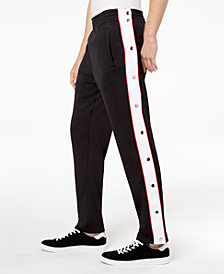 I.N.C. Men's Descendants Side-Stripe Track Pants, Created for Macy's