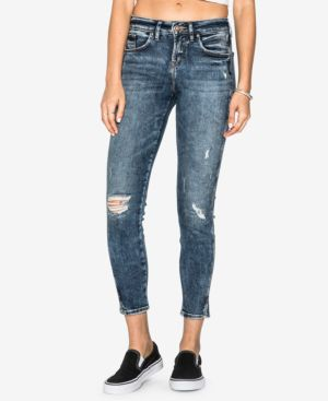 Silver Jeans Co. Juniors' Avery Ripped Ankle Jeans 5729481
