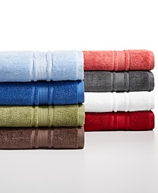 CLOSEOUT! Hotel Collection Quick Dry Supima Cotton Bath Towel Collection, Created for Macy's