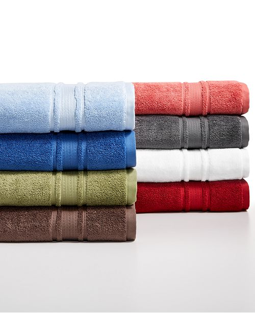 Hotel Collection CLOSEOUT! Quick Dry Supima Cotton Bath Towel Collection, Created for Macy's