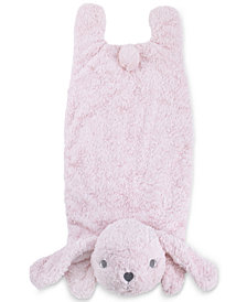 Cuddle Me Luxury Plush Tummy Time Mat Blanket Pink Bunny