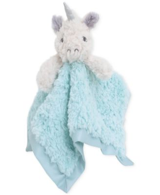 Luxury Plush Security Blanket Ivory Unicorn