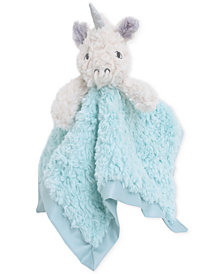 Cuddle Me Luxury Plush Security Blanket Ivory Unicorn