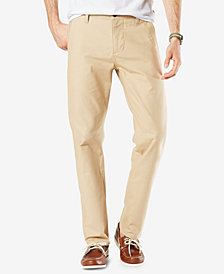 Dockers Men's Stretch Alpha Slim Tapered Fit  Twill Pants