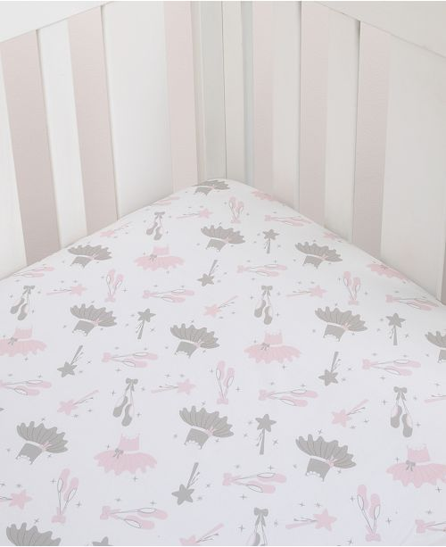 The Ballerina Bows Baby Bedding Collection From Nojo Is Perfect Addition To Room Decor Of Your Young Dancer Complete With Shoes