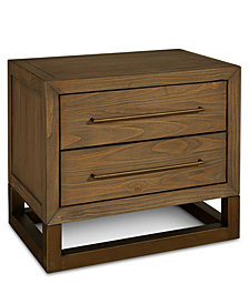 Prato USB Outlet Nightstand, Created for Macy's