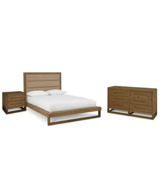 CLOSEOUT! Prato Platform Bedroom Furniture, 3-Pc. Set (Full Bed, Dresser & Nightstand), Created for Macy's