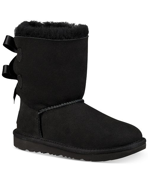 UGG Shoes | Final2xhp Girl Bailey Bow Ii Boots | Poshmark