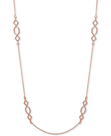 Ivanka Trump Rose Gold-Tone Open Strand Necklace