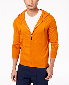Daniel Hechter Paris Men's Arthur Full-Zip Knit Hoodie