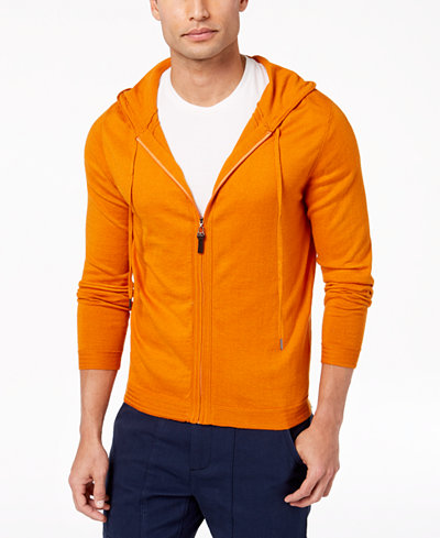 Daniel Hechter Paris Men's Arthur Full-Zip Knit Hoodie