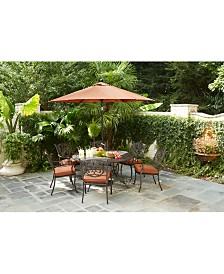 stylist design white patio table. Chateau Outdoor Dining Collection  Created for Macy s Patio Furniture