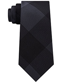 Kenneth Cole Reaction Men's Optical Solid Silk Slim Tie