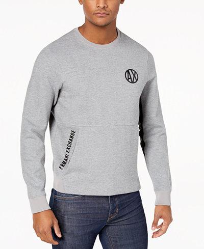 Armani Exchange Men's Logo-Print Sweatshirt