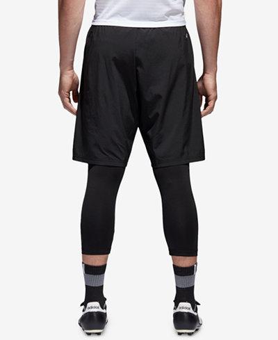 adidas Men's Tango 2-in-1 Soccer Shorts