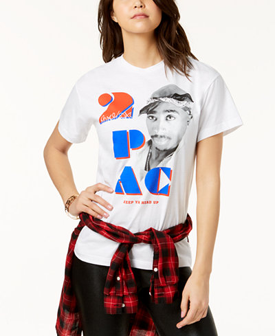 Bravado Juniors' Tupac Graphic T-Shirt