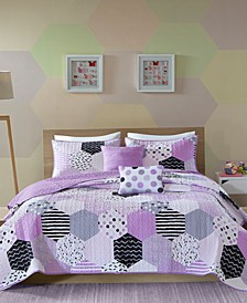 Trixie 4-Pc. Twin/Twin XL Coverlet Set