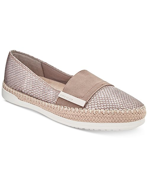 c7a663fd911 Anne Klein Zilya Espadrille Slip-On Flats   Reviews - Flats - Shoes ...