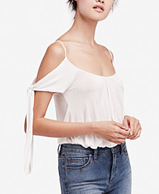 Free People Believe Me Cold-Shoulder Top