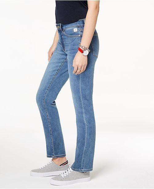 02ec04e98b8 Tommy Hilfiger Straight-Leg Jeans   Reviews - Jeans - Women - Macy s