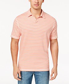 Tommy Bahama Men's Flip Stripe Polo