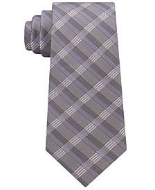Men's Crème Plaid Tie