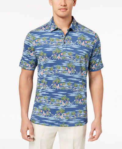 Tommy Bahama Men's What the Hula Printed Polo