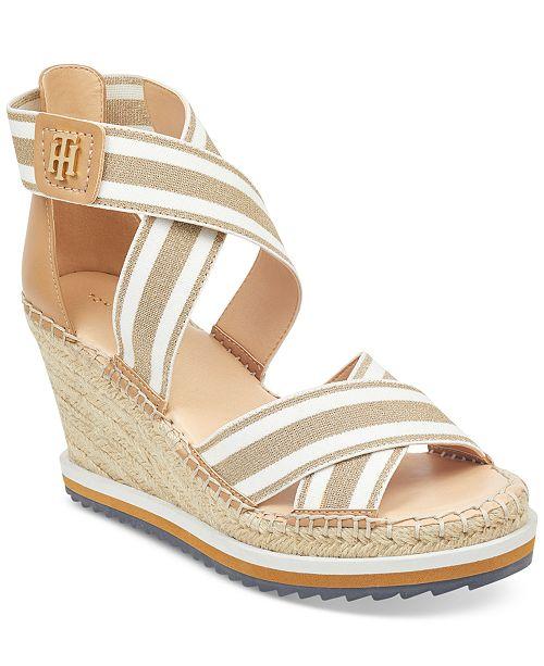 76d74a5ac ... Tommy Hilfiger Yesia Espadrille Platform Wedge Sandals