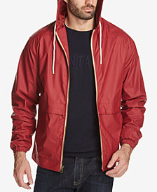 Weatherproof Vintage Men's Full-Zip Hooded Jacket, Created for Macy's
