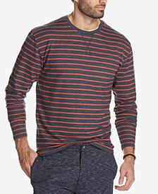 Weatherproof Vintage Men's Stripe French Terry T-Shirt
