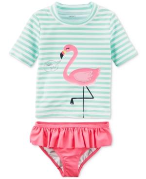 Carter's 2-Pc. Flamingo-Print...