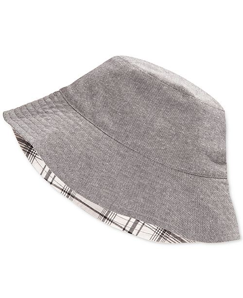 95b6305ee056c First Impressions Reversible Chambray Bucket Hat