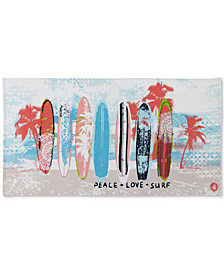 "Body Glove Surfboard Cotton 36"" x 70"" Graphic-Print Beach Towel"