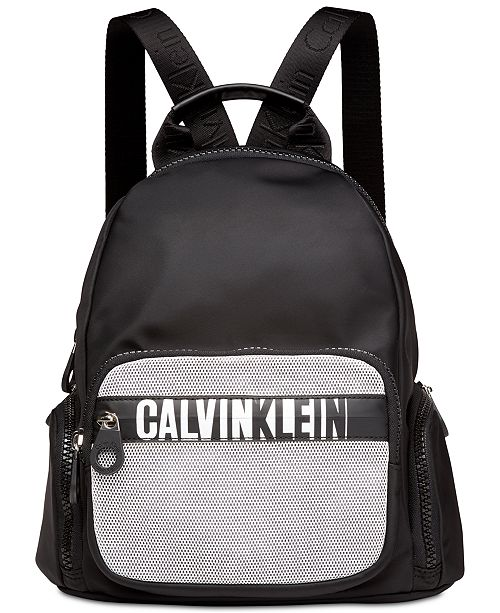 d71a798fd69 Calvin Klein Athleisure Small Nylon Backpack & Reviews - Handbags ...