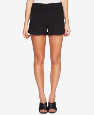 1.state Ruffled-Hem Shorts