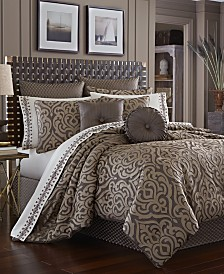 J Queen New York Astoria California King 4-Pc. Comforter Set