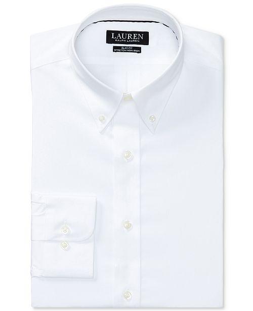 Poplin Slim Men's Fit Iron Shirt Non Stretch Dress NnOm80wv