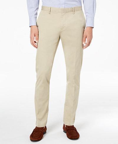 Calvin Klein Men's Stretch Twill Pants