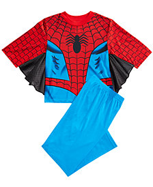 Marvel's® Spider-Man 2-Pc. Winged Pajama Set, Little Boys & Big Boys