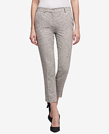 DKNY Tweed Skinny Pants, Created for Macy's