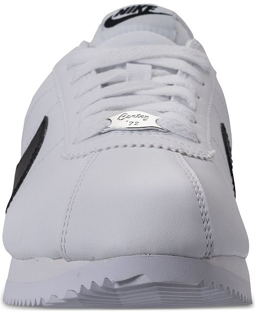 cheap for discount 6c685 a7ebd Men's Cortez Basic Leather Casual Sneakers from Finish Line