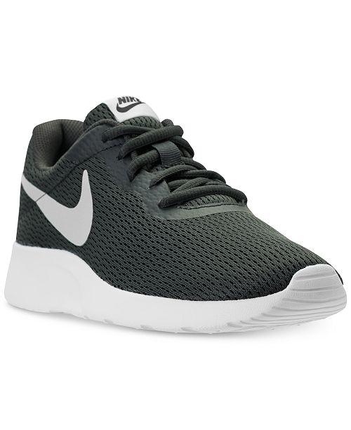 3135ed10375 Nike Women s Tanjun Casual Sneakers from Finish Line   Reviews ...