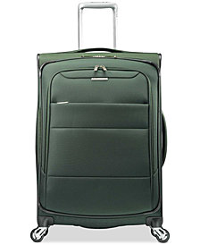 "Samsonite ECO-Spin 25"" Expandable Softside Spinner Suitcase, Created for Macy's"