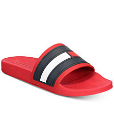 Tommy Hilfiger Men's Elwood Slide Sandals, Created for Macy's
