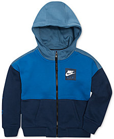 Nike Air Full-Zip Hoodie, Little Boys