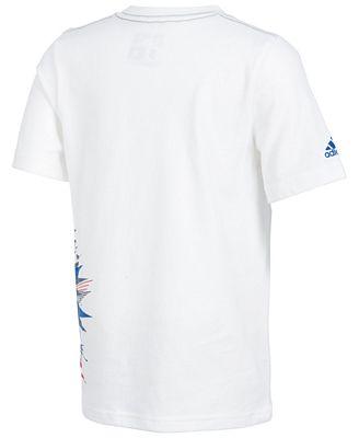 Adidas soccer Print Cotton T Shirt, Toddler Boys Shirts & Tees