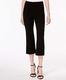 Rachel Zoe Michelle Cropped Straight-Leg Pants